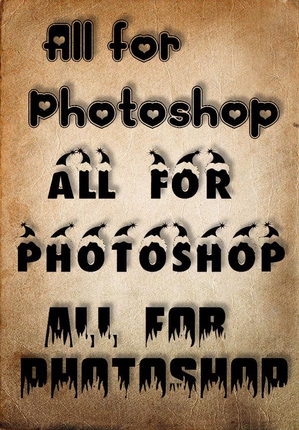 Коллекция шрифтов 2009 года